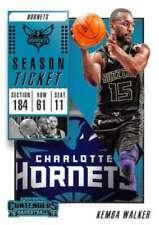 Cartes de basketball Panini charlotte hornets