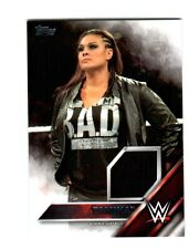 WWE Tamina Snuka 2016 Topps Event Used Shirt Relic Card SN 260 of 299