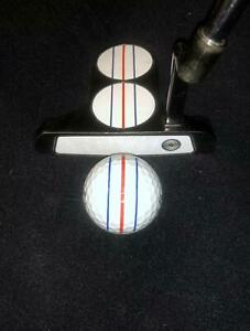 ODYSSEY TRIPLE TRACK Styled VINYL DECAL for ANY PUTTER! •YOU WILL PUTT BETTER!!•