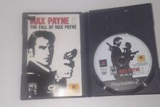 Max Payne 2 The Fall of Max Payne Sony Play Station 2 Game PS2 Video Games