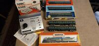 Southern Crescent Limited ho scale passenger train lighted w/interiors, mrc 6200