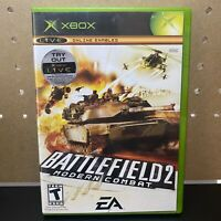 Xbox : Battlefield 2 Modern Combat VideoGames - Complete & Tested