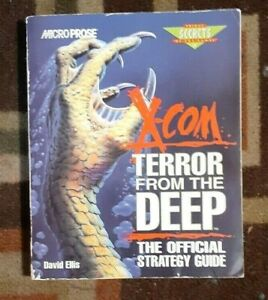 X-COM Terror From The Deep Prima Secrets Strategy Game Guide PC/CD-ROM