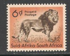 South Africa #207 (A102) VF MNH - 1954 6p Lion
