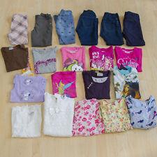 Tolles Kleiderpaket für Mädchen Sommer Short Tshirt Kleid Jeans Größe 110 / 116