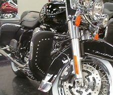 Desert Dawgs Rain Guards/Wind Deflectors - Harley Glide/Ultra/RoadKing (Studs!)