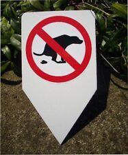 Einstecker kein Hundeklo Hundehaufen Kot Tretmine Hund Verbot Kacke Warnschild