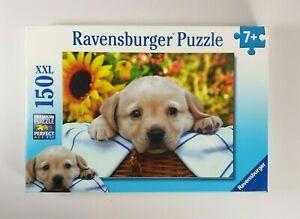 New - Ravensburger Puppy Picnic Jigsaw Puzzle 150 XXL Pieces Labrador Retriever