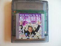 Who Wants to Be a Millionaire 2nd Edition - Game Boy Color