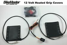 """BikeMaster Removable Heated Grips Covers For 7/8"""" or 1"""" Triumph BMW"""