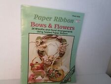 BOWS & FLOWERS ribbon wreath floral projecfs Christmas heart victorian angel