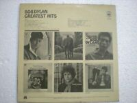 BOB DYLAN GREATEST HITS CBS LP RECORD w/INNER INDIA INDIAN VERY RARE VG+