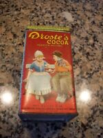 Droste's Cocoa Harlem Holland Tin Vintage Dutch Process