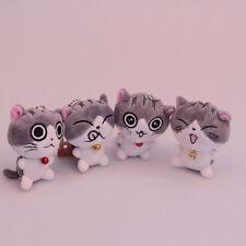 Cute Cat Plush Doll Toys Stuffed Animal Bolster Key chain Keyring Hot Sell