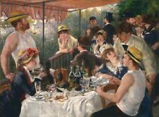 LUNCHEON OF THE BOATING PARTY by Pierre-Auguste Renoir - A4 or A3