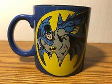 Batman 20 oz. Jumbo Ceramic Mug Bruce Wayne Dark Knight Justice League DC RARE