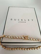 Genuine Buckley London Tennis crystal bracelet