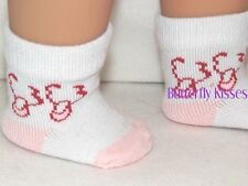Ballerina Shoe Socks 18 in Doll Clothes Fits American Girl Dolls