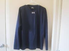 Under Armour Heat Gear Men's Navy Long Sleeve Locker T-Shirt L