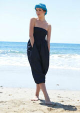 Cotton Bandeau Sleeveless Jumpsuits & Playsuits for Women