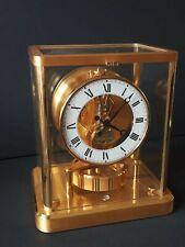 Pendule Atmos Jaeger-Lecoultre année 60 laiton doré a l'or fin