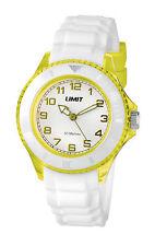 Limit Glacier Unisex Sports Yellow Watch Model No - 6026