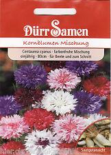 Kornblumen Korn Blume Mischung Centaurea Gefüllt Bienenweide 150 Korn Dürr Samen
