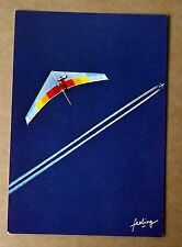 Carte postale PArapente et avion à réaction,Tony Stone  ,postcard