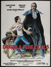 Dracula pere & fils Christopher Lee Horror movie poster