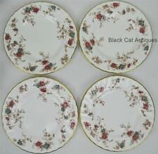 Lovely MINTON Ancestral Bone China Lot Of 4 Bread & Butter England Floral