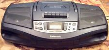Working Great Panasonic Rx-Ds18 Portable Am Fm Radio Cd Player Cassette Player