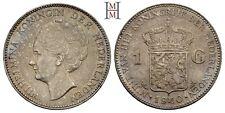 HMM - Niederlande Wilhelmina 1 Gulden 1940 Gutes vz - 161118021
