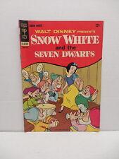 Snow White And The Seven Dwarfs Gold Key Silver Age Comic Book