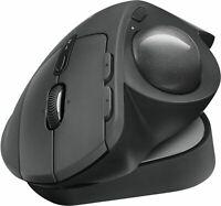 Logitech MX Ergo Plus Wireless Trackball Maus mit Unifying Empfänger schwarz