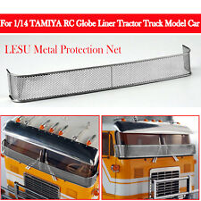 LESU Metal Protection Net For 1/14 TAMIYA RC Globe Liner Tractor Truck Model Car