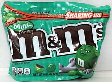 M&M's Mint Dark Chocolate Candies 9.60 oz Sharing Bag M&M M&M's