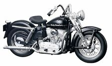 Maisto Harley-Davidson 1952 K Model (Black) 1:18 Scale Diecast Model Motorcycle