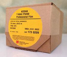 KODAK 70mm x 100ft T-MAX P3200 B&W BULK FILM! NEW TMAX PRO BACK ISO FREEZER KEPT