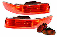 94-97 Acura Integra DC DC2 Bumper Turn Signals + Side Markers Blinkers JDM Amber