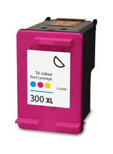 More details for 300xl text quality colour ink cartridge for hp deskjet f2480 f2483