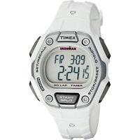 Timex Women Ironman 30-Lap Digital Quartz Mid-Size Watch White TW5K89400