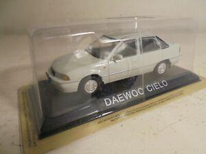 DeAgastini 1;43# diecast- Daewoo Cielo 4dr saloon(light Beige)- NEW/blisterpak