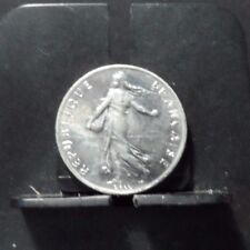CIRCULATED 1977 1/2 FRANC FRENCH COIN (90317)2