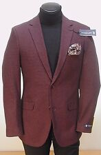 Retail $175.00 NOW $69.99 U.S Polo Burgandy Check Sportcoat