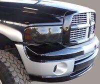02-05 Dodge Ram precut Tail light + headlight + fog tint vinyl smoked covers