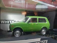 1:24 Scale Model Lada Niva Cossack 4x4 Vaz-2121 Green Whitebox 124037 AvtoVAZ
