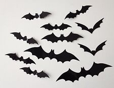 Wall Decoration Stickers, 3D Bat Wall Decoration Stickers. Halloween Bat Sticker