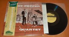 The Art Pepper Quartet - 1976 Baybridge Records Japanese Mono LP