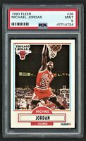 1990 FLEER MICHAEL JORDAN #26 CHICAGO BULLS        HOF   LAST DANCE   PSA 9 MINT
