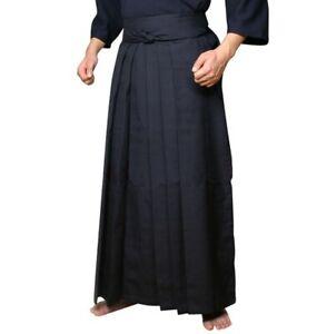 Cotton blend Uniform Hakama Pants Samurai Garment Trousers For Japan Kendo